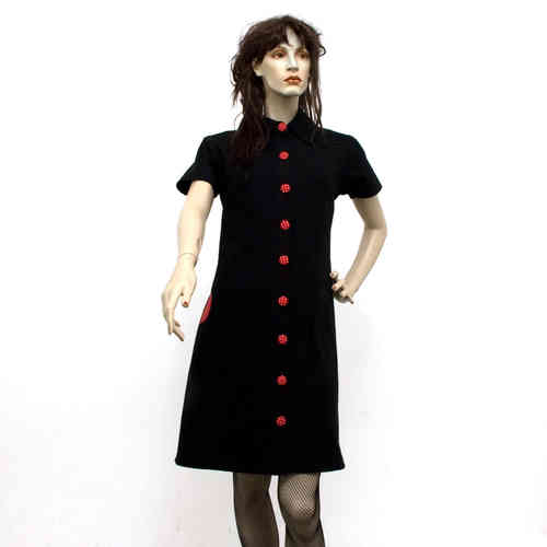 kleid: lady button [ bio.01 ]