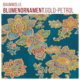 BwFroweiBlumenornamentGoldPetrol_340px